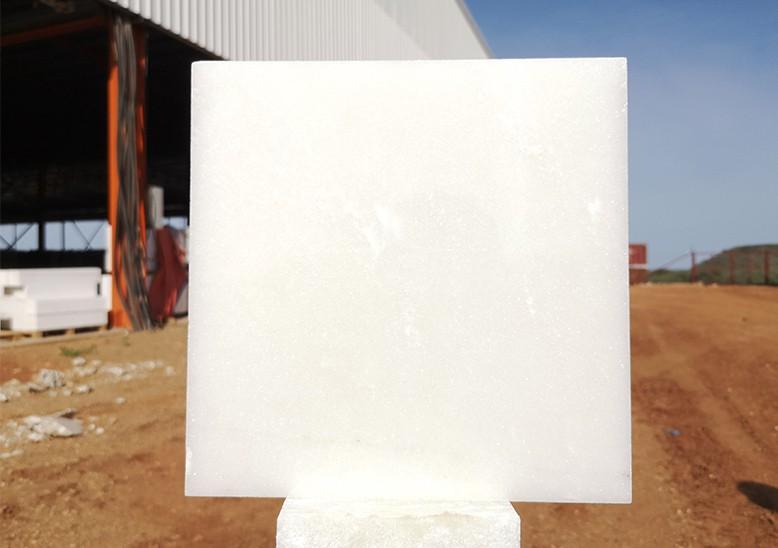 非洲白色大理石·雪花白